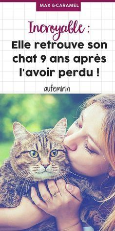 Elle retrouve son chat 9 ans après l'avoir perdu ! #maxetcaramel #chat #animauxdomestiques #retrouvé