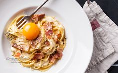 pasta carbonara by l-i-s-k-a #food #yummy #foodie #delicious #photooftheday #amazing #picoftheday