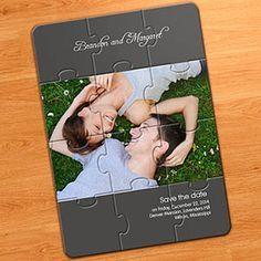 Ihre Hochzeit soll einzigartig sein und das gilt doch auch für Ihre Einladungen zum großen Tag. Die 12 Puzzleteile zeigen Ihr Photo und sie gestalten Ihre Einladung mit Ihrem eigenen Text. ab nur €1.32 http://www.printerstudio.de/machen/hochzeitbekanntgabefotopuzzlegrau.html