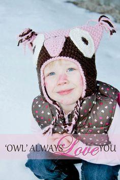 Adorable Owl Hat by LovebugsandMonkeys on Etsy, $15.00
