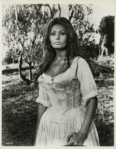 """""""More than a miracle""""with Sophia Loren, she is so beautiful, then and now."""