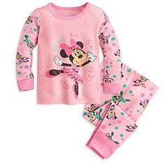 Disney Minnie Mouse PJ PALS for Baby   Disney StoreMinnie Mouse PJ PALS for Baby - Your little one will dance off to dreamland in these Minnie Mouse PJ PALS for Baby. She%u2019ll find Minnie on point duty as she goes for a spin in her ballet pumps on the front of the long sleeve top, which comes with coordinating pants.