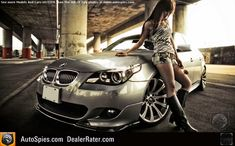 HD wallpaper: grey BMW sedan, women with cars, animal print, jean shorts, Asian Lamborghini, Ferrari, Car And Girl Wallpaper, Sports Car Wallpaper, Hd Wallpaper, Sexy Cars, Hot Cars, Bmw M5, Dodge