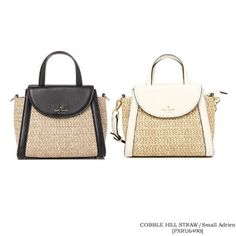 c81bb0f32e87 kate spade new york かごバッグ 【Kate Spade】COBBLE HILL STRAW small adrien[