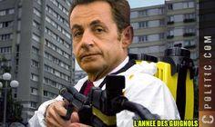 Sarkozy et son Karcher