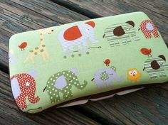 Marching Elephants Fabric Covered Boutique by CrystalCreations108, $7.00