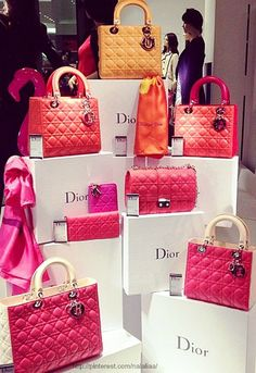 Visual Merchandising | Display: Dior Handbag Store Display