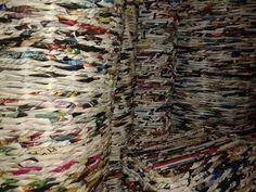 Como hacer cestas de revistas ☻☻ignacio☻☻