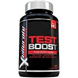 Test Boost for Men - 180 Capsules Testosterone Support Supplement - Ingredients Contribute to Normal Testosterone Levels & Reduction in Fatigue - Zinc Level Booster, Magnesium & Maca Root Natural Testosterone, Testosterone Booster, Testo Booster, Magnesium Vitamin, Training Equipment, Rugby Clothing, Running Clothing, Cycling Clothing, United Kingdom