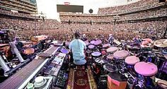 The #GratefulDead faces a sold-out Levi's Stadium crowd in Santa Clara, Calif., June 27. (Jay Blakesberg/Invision for the Grateful Dead/AP Images)