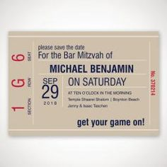 Game On Save the Date Magnet