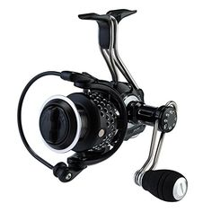 Piscifun Steel Feeling Spinning Fishing Reel Full Metal Body with Carbon Fiber Drag CNC Machined Aluminum Spin Reels Freshwater (Black 2000 series) *** Continue to the product at the image link.