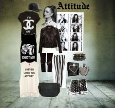 """""""Attitude"""" by vicky-wanwisa-charoenkul on Polyvore"""
