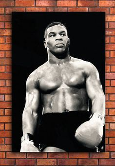 Mike #tyson canvas #framed wall art print - #boxing  a1 a2 a3 a4,  View more on the LINK: 	http://www.zeppy.io/product/gb/2/171826924705/