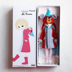 ⁄(⁄ ⁄ ⁄ω⁄ ⁄ ⁄)⁄ #licca #doll #dollstagram #リカちゃん Doll Crafts, Diy Doll, Fabric Toys, Sewing Toys, Designer Toys, Collector Dolls, Plush Dolls, Box Design, New Toys