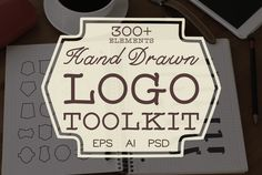 Hand Drawn Logo Toolkit by BART.Co Design on @creativemarket
