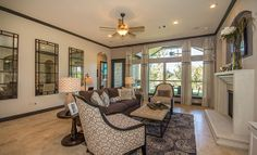 Village Builders: A Lennar Luxury Brand -  Harmony in Spring, Texas - Living Area