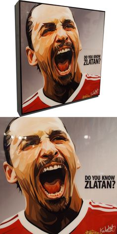 """Zlatan Ibrahimović Manchester United Poster Plaque with Quote """"Do you know Zlatan?"""" Bringing a unique and artistic flair to pop culture. Zlatan Quotes, Manchester United Poster, World Cup Draw, Pop Art Posters, Wood Plaques, Did You Know, Playstation, Pop Culture, Art Pieces"""