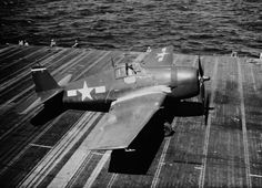 """Grumman F6F Hellcat """"Minsi III""""  (BuNo-70143) flown by top WWII naval ace and Medal of Honor recipient, Cdr. David McCampbell, aboard the USS Essex in October of 1944.  The F6F Hellcat was a rugged and powerful 'work horse' for the USN.  Introduced in late 1943, it accounted for over 55% of all Navy/Marine air victories."""