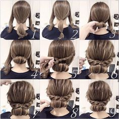25 fast hairstyles for medium and long hair for every day. lange haare schnelle 25 fast hairstyles for medium and long hair for every day. Plaits Hairstyles, Fast Hairstyles, Pretty Hairstyles, Girl Hairstyles, Hairstyle Ideas, Hairstyle Wedding, Dinner Hairstyles, Wedding Hairdos, Very Easy Hairstyles