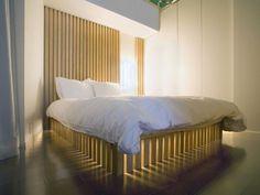 lit design aménagement contemporain déco japonaise