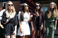 Little Mix fill Leeds with colour as they mix it up in trendy outfits for outdoor performance - 3am & Mirror Online
