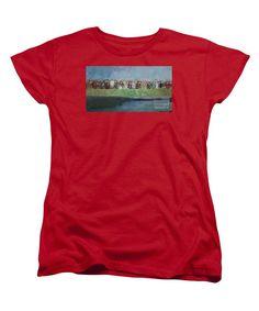 Women's T-Shirt (Standard Cut) - Abstract Landscape 1526
