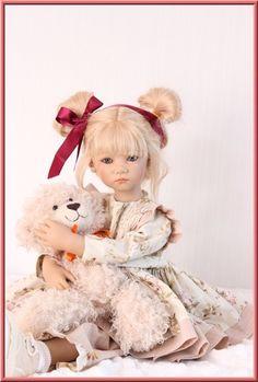 Annette Himstedt, Teddy Bear, Dolls, Beautiful, House, Baby Dolls, Home, Puppet, Teddy Bears