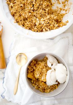 Apple Oat Crumble  - Gluten free
