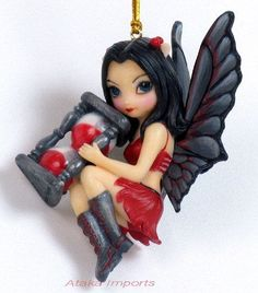 Jasmine Becket Griffith Time Fairy Ornament Figurine Statue Collectible | eBay