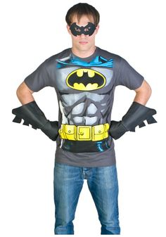 Mens Batman Costume T-Shirt