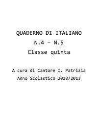 QUADERNO DI ITALIANO Language, Coding, Classroom, Math Equations, Education, School, 3, Studio, Blog