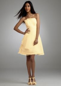 This is the dress I bought from Davids.