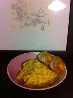 Cheap meals - Alfredo pasta