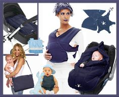 True blue makes a great colour for girl or boy