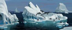 Penguins by Andead.deviantart.com on @DeviantArt