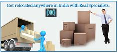 Get #relocated anywhere in #India with Real #Specialists.. #packers #movers