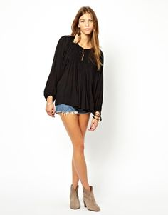 Enlarge Denim & Supply By Ralph Lauren Blouse With Embroidered Detail