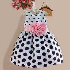 Cheap girls princess dress, Buy Quality princess dress directly from China toddler girl princess dress Suppliers: 2015 New Stylish Kids Toddler Girls Princess Dress Sleeveless Polka Dots Bowknot Dress! Little Girl Dresses, Girls Dresses, Flower Girl Dresses, Flower Girls, Princess Dresses, 50s Dresses, Elegant Dresses, Denim Dresses, Sleeveless Dresses
