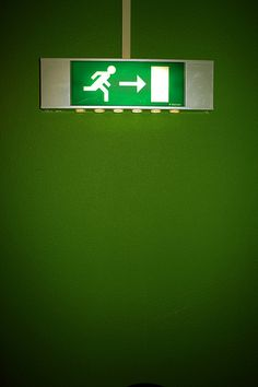 Emergency Exit Signs, What To Draw, Flip Clock, Safety, Security Guard