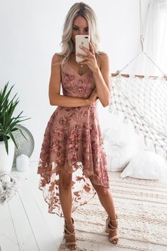 Saskia High Low Dress - Embroidery Rose - Saskia high low dress embroidery rose by two sisters the label Source by - High Low Bridesmaid Dresses, Blush Pink Bridesmaid Dresses, Hoco Dresses, Dance Dresses, Pretty Dresses, Beautiful Dresses, Cute Homecoming Dresses, 1950s Dresses, Chiffon Dresses
