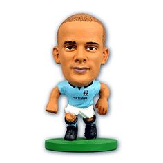 eaa87bfb3 SoccerStarz Vincent Kompany Manchester City FC Football Figure One Size  Multicoloured -- Check this awesome