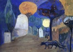 Panthers, 1907, Martiros Sarian