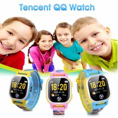 >> Click to Buy << Tencent QQ Kids GPS SIM card Watch Wifi Smart Activity Tracker Watch Phone gps tracker SOS Call cartoon-watch for Android ios  #Affiliate