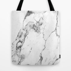 White Marble I Tote Bag #marble #marbletrend #marblebag #totebag #trendtotebag #trend #accessory #fashion