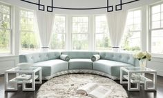 Amazing Round Living Room Designs That Will Impress You
