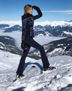 Natasha Poly au sommet des montagnes