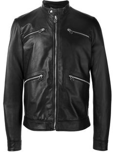 PHILIPP PLEIN Band Collar Jacket. #philippplein #cloth #jacket