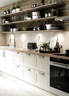 Heavenly Kitchen remodel omaha tricks,Small kitchen remodel atlanta ideas and Kitchen design or layout tricks. Home Decor Kitchen, Country Kitchen, New Kitchen, Home Kitchens, Kitchen Ideas, Kitchen Pictures, Kitchen White, Awesome Kitchen, 1960s Kitchen