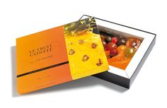 Coffret Fruits Confits Glacés 1kg ouvert - Candies fruits - Maison Lilamand - Saint-Rémy de Provence